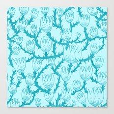 Mint Thorn Canvas Print
