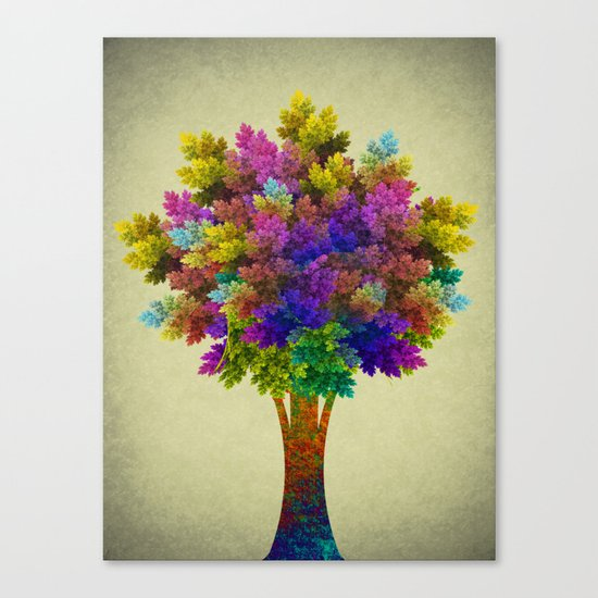Miracle Tree Canvas Print