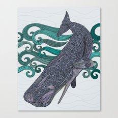 Deep Violet Canvas Print