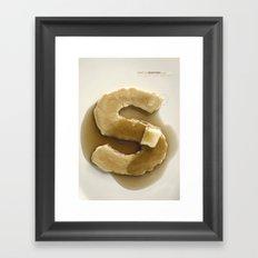 Simply Grotesk Framed Art Print