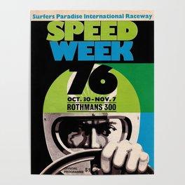Speed week 76 Poster