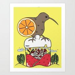 Jam World Art Print