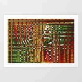 Abstract Art Work Geometic Art Print