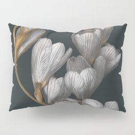 Night Flowers Pillow Sham