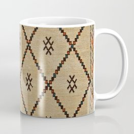 V7 Traditional Moroccan Carpet Design Coffee Mug