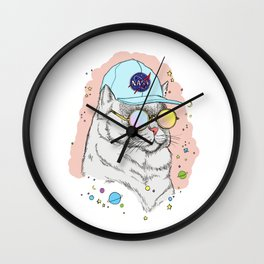 Major Tom Wall Clock