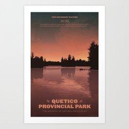 Quetico Provincial Park Art Print