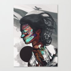 Map of Your Head Canvas Print