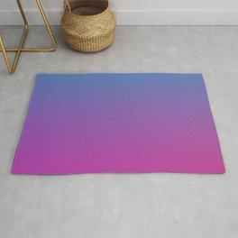 RETRO BLAST - Minimal Plain Soft Mood Color Blend Prints Rug
