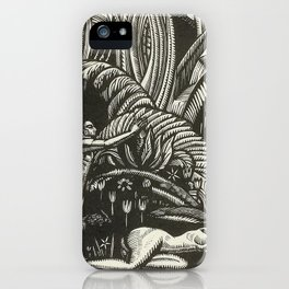 Spring, Engraving from Song of Solomon, 1929 by Cecil Buller iPhone Case