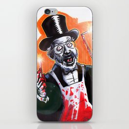 Dr. Demento: Not a real Doctor iPhone Skin