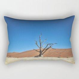 Lone Dead desert Tree Rectangular Pillow