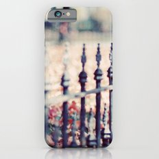 Autumn Fence iPhone 6s Slim Case