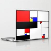 fibonacci Laptop & iPad Skins featuring Neo-Plastic-Fibonacci-1 by AMO Design