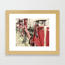 I Want to Ride My Bicycle Framed Art Print