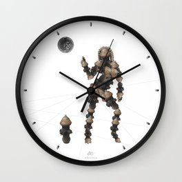 Sexy pump-2 Wall Clock