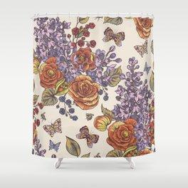 Flowers8554 Shower Curtain