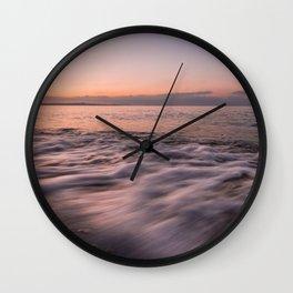 Shades on the beach Wall Clock