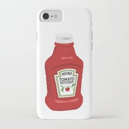 Single Ketchup Bottle iPhone Case