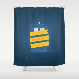 Stories Shower Curtain