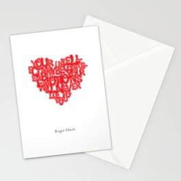 Roger Ebert Quote Stationery Cards