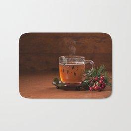 Holiday Tea Bath Mat