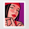 The secret life of heroes - elektra pimple by gregguillemin