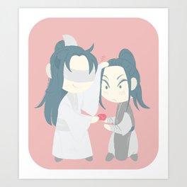 Xiao Xingchen & Xue Yang & candy Art Print