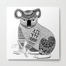 Koala Metal Print