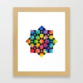 IG rainbow Framed Art Print