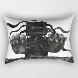 Mr. Computer Rectangular Pillow