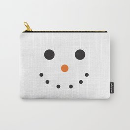 Snowman Holiday Carry-All Pouch