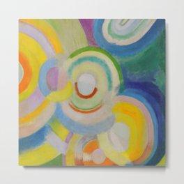 "Robert Delaunay ""Colored Discs"" Metal Print"