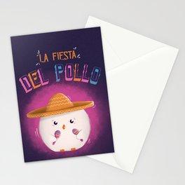 La Fiesta Del Pollo Stationery Cards