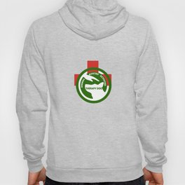 Animal Assisted Activities  - THERAPY DOG logo 2 Hoody