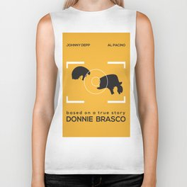 Minimal Poster | Donnie Brasco Biker Tank
