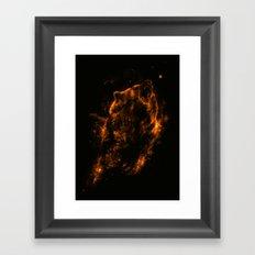 Mrs.Grizzly Framed Art Print