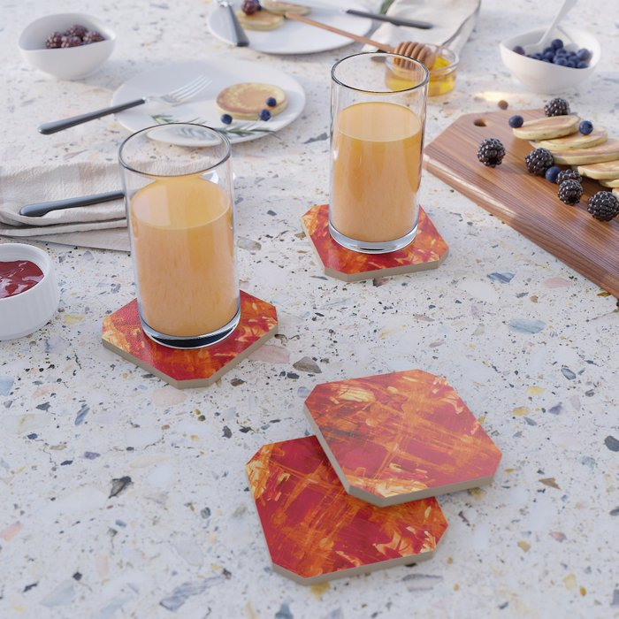 Abstract Color Field 2 Coaster