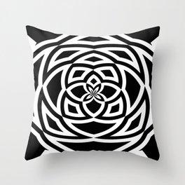Box Spiral Throw Pillow