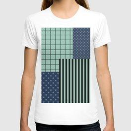 Patchwork retro 2 T-shirt