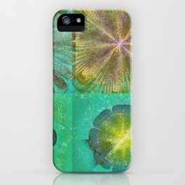 Hallowed Layout Flowers  ID:16165-043715-02000 iPhone Case