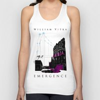 book cover Tank Tops featuring Emergence - Book Cover by svitka
