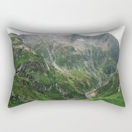 Mighty Mountains of Switzerland Rectangular Pillow
