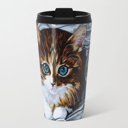 Whiskers the Cat Travel Mug