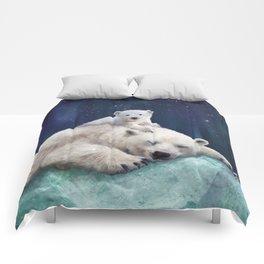Polar Bears Comforters