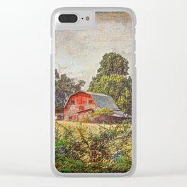 Old Farm Clear iPhone Case