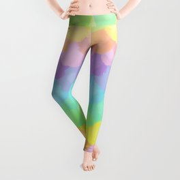 Rainbow Mermaid Scales Leggings