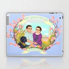 Happy Birthday Alex! Laptop & iPad Skin