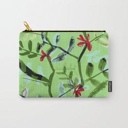 Crimson Favas Carry-All Pouch