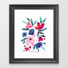 LeiLani Flower Framed Art Print